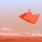 Flying carpet in the Hindu Kush by Marlies Odehnal