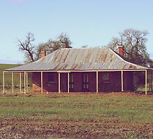 Old Coach House 1888 - Wheatbelt Western Australia by Debbie-anne