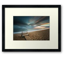 Throughout time Framed Print