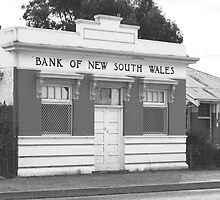 Bank Of NSW -- Pithara Western Australia by Debbie-anne