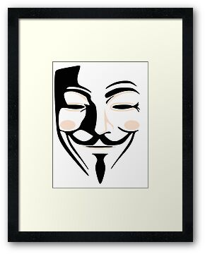 Guy Fawkes Anonymous Mask  by midniteoil