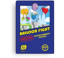Adventure in Balloon Fighting Canvas Print