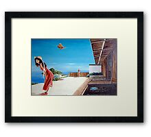 The Villa at Bourani - 1986 Framed Print