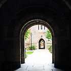 Doorway at Yale University by Bine
