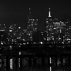 2am Melbourne across Hobson's Bay, Williamstown  by TJSPictures