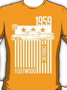 1959 Cadillac Sixty Special Fleetwood illustration T-Shirt