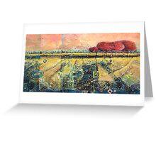 Spiral Filled Landscape Greeting Card