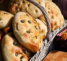 Olive Bread by Susie Peek