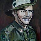 "ANZAC Portrait Series 4 - ""JOE"" Part 1  by Wayne Dowsent"