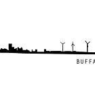 Buffalo City Skyline by TWCreation