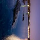 Greek twilight waterscape1 by shelfpublisher