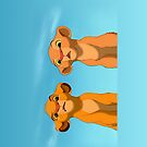 The Lion King: Simba and Nala by alexandramarieg