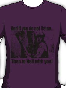Conan the Barbarian Crom Prayer T shirt T-Shirt