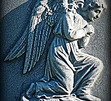 Stone Angel, Hayes Cemetery, Ashtabula County, Ohio by Sheri Nye