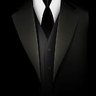 Men&#x27;s Tuxedo Suit  iPad Case / iPhone 5 Case / iPhone 4 Case  by CroDesign