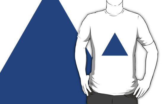 Triangle (Blue) by cadellin