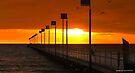 Angry skies at sunset 002 by Karl David Hill