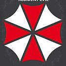 No119 My RESIDENT EVIL minimal movie poster by Chungkong