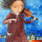Fiddler by Monica Blatton