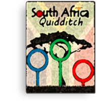 South Africa Quidditch Canvas Print
