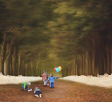 Little Kids's Path Of Joy...  by Qnita