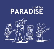 Paradise Elephants (White) - Coldplay by FabFari