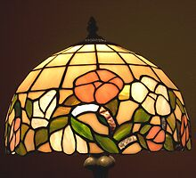 Stained Glass Table Lampshade by David DeWitt