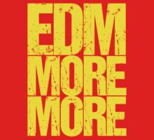 EDM MORE MORE (yellow) by DropBass
