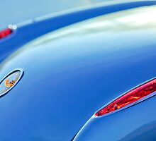 1959 Chevrolet Corvette Taillight and Emblem by Jill Reger