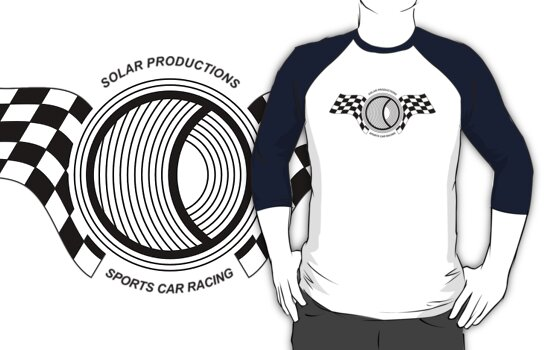 Steve McQueen Solar Productions Sports Car Racing Black Text by AllHallowsEve