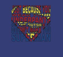 Superman Tee by dgoring
