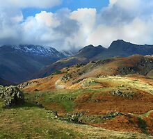 Harrison Stickle from Langdale Pikes by rennaisance