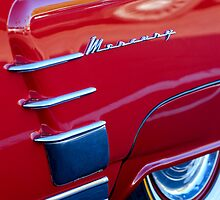 1953 Mercury Monterey Wheel Emblem by Jill Reger