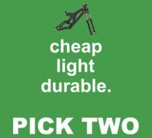 Bike parts Downhill MTB  by Nick  Taylor