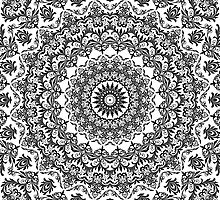 Damask Wallpaper Kaleidoscope 04 by fantasytripp