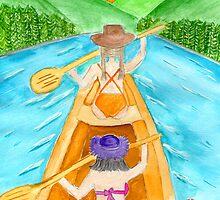canoe trip by Hbeth