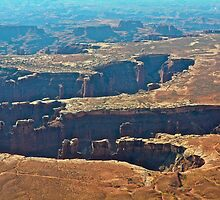 God's handprint Canyonlands N.P. by EarthPhoenix