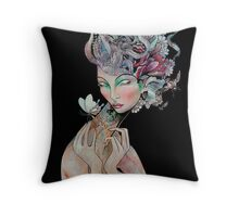 'The bee keeper' Throw Pillow