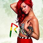 Rihanna - LOUD: iPhone 4 &amp; iPod Touch 4G Design by Creat1ve