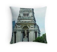 The Former Port of London Authority Building Throw Pillow