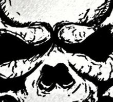 Skull Boy Sticker