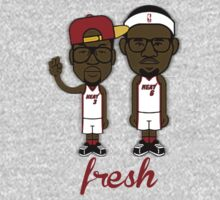 Lebron James and Dwayne Wade by Prince92