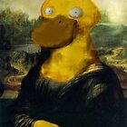 Mona Psyduck by stevontoast