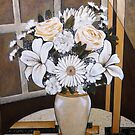 "White Day - Oil Painting by Belinda ""BillyLee"" NYE (Printmaker)"