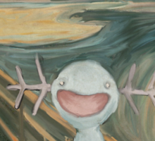 Wooper's Scream Sticker