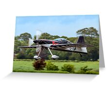 Gerald Cooper getting airborne Greeting Card
