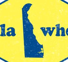 Delawhere? Vintage Delaware Sticker