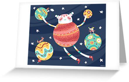 Gathering Planets by Chopsticksroad