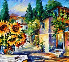 GREEK NOON - OIL PAINTING BY LEONID AFREMOV by Leonid  Afremov