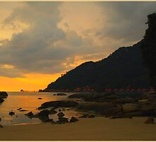 Langkawi Sunset by Janone